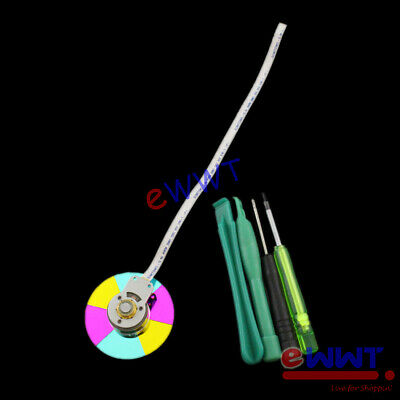 Replacement Color Wheel W/ Flex Cable+Tools For BenQ W1070 DLP Projector OQOT919 • 19.99£