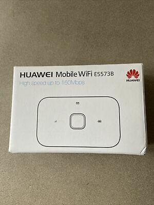 Huawei Mobile WiFi E5573B - High Speed Up To 150Mbps - BRAND NEW • 23£