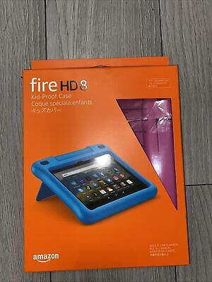 Fire HD 8 Kids Edition 10th Generation Pink Case With Stand • 20£