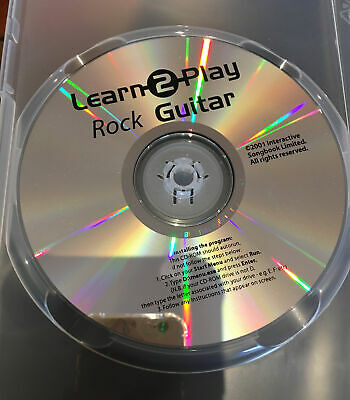 Learn 2 Play Rock, Funk, Indie And Blues 4. CD ROMs • 2£