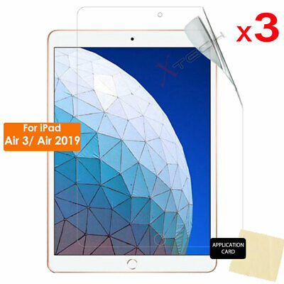 3x CLEAR LCD Screen Protector Guard For Apple IPad Air 3, IPad Air 2019 10.5  • 2.95£