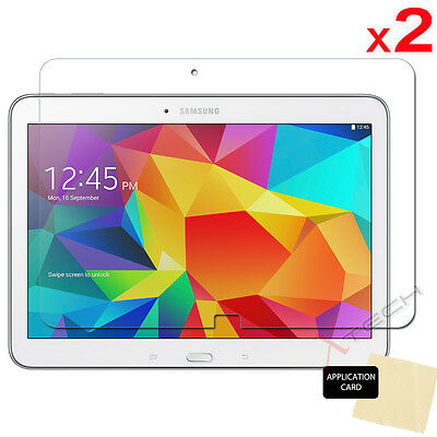 2x Samsung Galaxy Tab 4 10.1 Inch T530 Series CLEAR LCD Screen Protector Cover • 1.95£