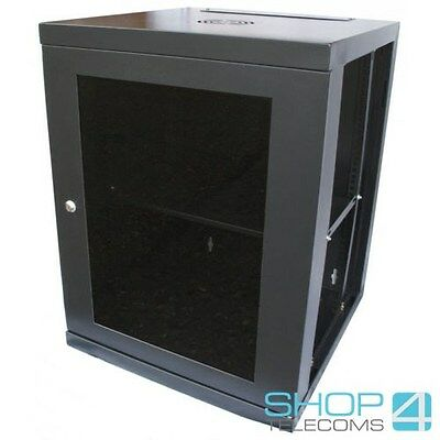 15U 550mm  Deep Network Data Comms Cabinet  • 162£