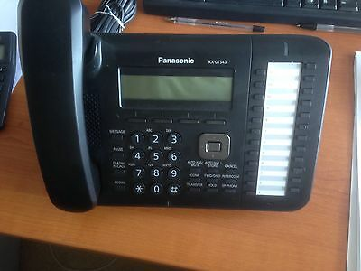 Panasonic KX DT543 Digital Phone Black New And Boxed Kx-dt543. Rrp£190 • 145£