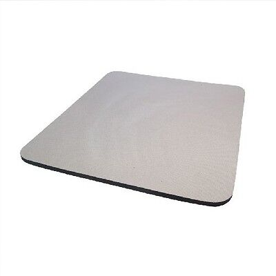 Grey Mouse Mat Pad - 5mm - Foam Backed • 1.99£