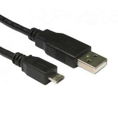 5m Long A Male To MICRO B USB 2.0 Charger Cable Lead XBOX ONE PS4 Controller • 3.99£