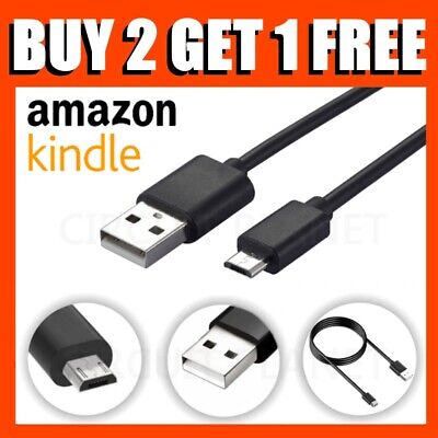 For Amazon Kindle Fire HD 7 8 10 Tablet Micro USB Charging Data Charger Cable • 2.99£