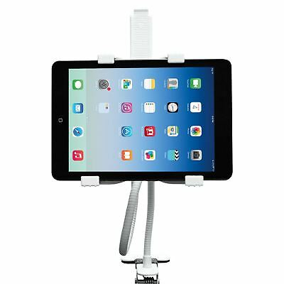 Gooseneck 360 Lazy Bed Desk Stand Holder Mount-iPad 2 3 4 Air Mini Tablet White • 6.95£