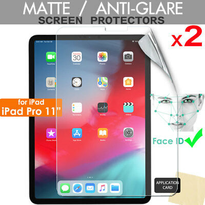 2x ANTIGLARE MATTE Screen Protectors For Apple IPad Pro 11  2020 / 2018 • 3.49£
