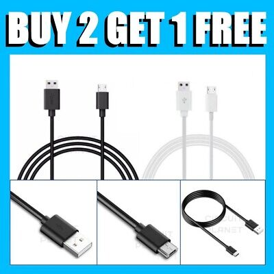 For Samsung Galaxy Tab A Tablet Micro USB Fast Charging Data Sync Charger Cable • 2.99£