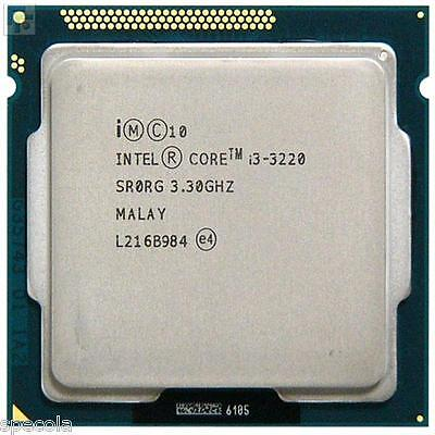 Intel Core I3 3220 I3-3220 PROCESSOR 3.3 GHz S1155 SR0RG CPU ONLY  FAST DELIVERY • 5.99£