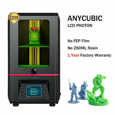 Used  ANYCUBIC Photon SLA 3D Printer Off-Line Print UV Resin Assembled 2K LCD • 139£