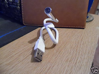 White Usb 2.0 Reading Light  • 2.50£
