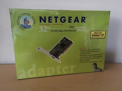 Netgear 32bit PCI Adapter FA311 • 8£