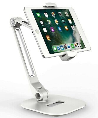 Smartphone Tablet & IPad Holder White Desktop Stand • 34.95£