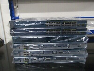 Cisco CCNA CCNP Security  LAB  3 X 2801 IOS 15 + 2 X C3560V2  ASA5510 12U Rack • 290£