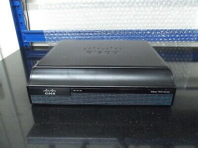Cisco1941/K9 IS Router Ipbasek9, Securityk9 + ISM-VPN-19  • 90£