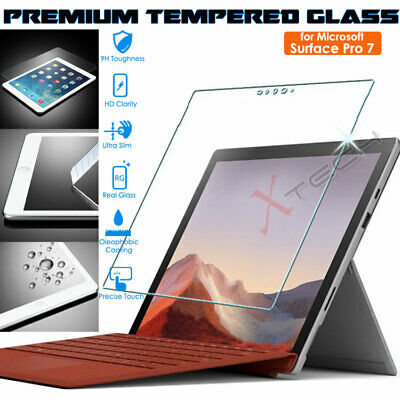 Genuine TEMPERED GLASS Screen Protector Cover For Microsoft Surface Pro 7 • 6.95£