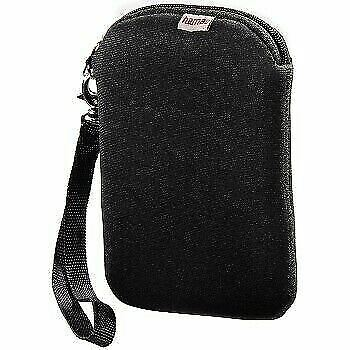 HAMA 2.5 Inch Portable External Hard Drive Soft Neoprene Carry Case/Sleeve Black • 5.87£