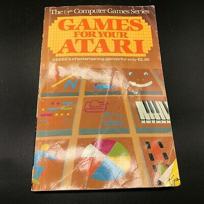 Vintage Atari Games For Your  Booklet Guide Book • 12.99£