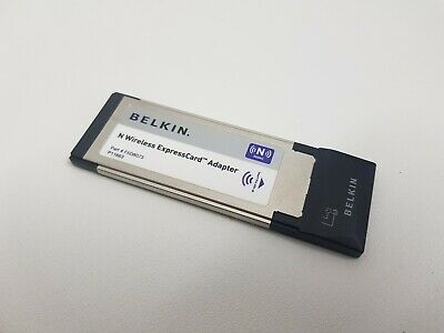 Belkin N Wireless Express Card Adaptor Part No: F5D8073 • 6.99£