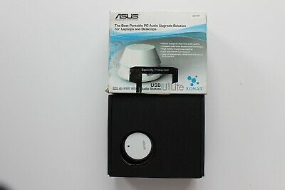 ASUS Xonar U1 Lite USB Audio Station Sound Card - White (Boxed) • 19.99£