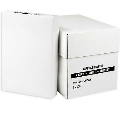 Multipurpose White Paper A4 80gsm Office Printer Copy Copier Fax 50-300 Sheets • 8.49£