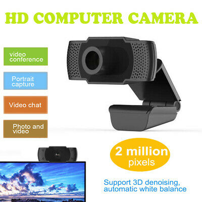 1080P HD Webcam Conference Video Calling Computer Camera With Microphone • 20.99£