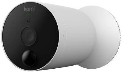 Kami Outdoor Smart Battery Camera (W102) 100% Wire Free Long Battery Life 1080p • 73.99£