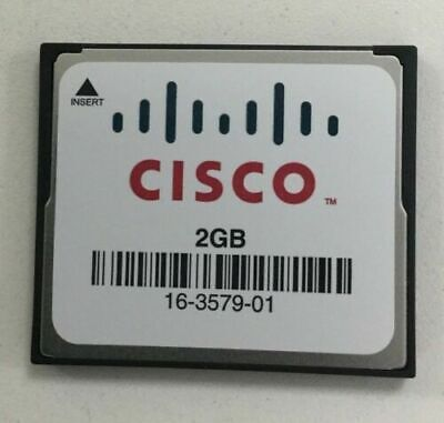 Cisco 2GB Flash For Routers 1900, 2900 And 3900 MEM-CF-2GB • 8.99£