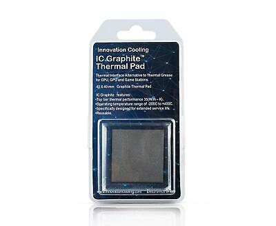 Innovation Cooling IC Graphite Thermal Pad – Alternative To Paste 40x40mm • 13.95£