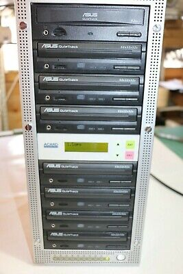 Acard CD Duplication Copying Tower  52 X 32 X 52 High Speed - 7 Burner • 100£