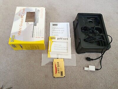 Psion Gold Wan Global PC Card 56k+ Fax • 13.99£