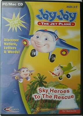Jay Jay The Jet Plane CD PC. Ages 3-7 • 2£