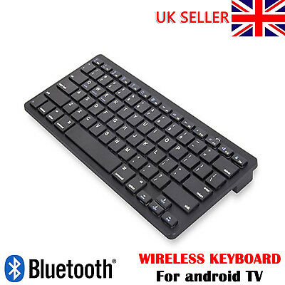 Black Wireless Bluetooth Keyboard For IPad Phone Apple IMac Android Tablet PC • 9.39£