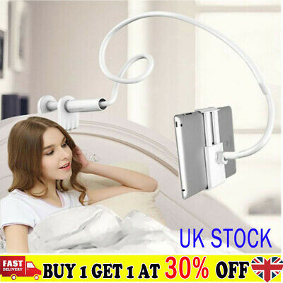 360 Gooseneck Table Bed Clamp Stand Holder Mount For IPad Tablet Flexible Arm IB • 10.75£