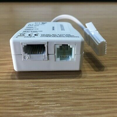 ADSL Microfilter Internet Broadband TelePhone BT Line Filter Splitter With Cable • 3.95£