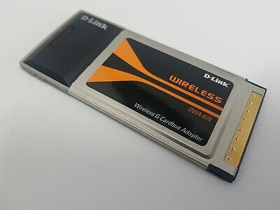 D-Link DWA-610 PCMCIA  Card Bus Adapter For Laptops Content: • 6.99£