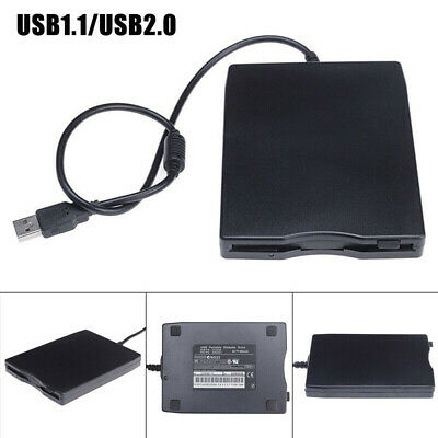 New USB/FDD Portable 3.5External Floppy Disk Drive Data Storage For Laptop • 13.99£