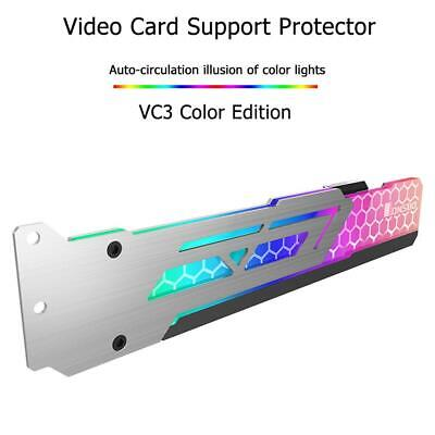 Jonsbo V3 3Pin Colorful RGB Automatic Change Graphics Video Card Support Bracket • 15.22£