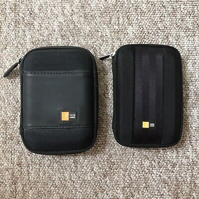 Case Logic Portable Hard Drive 2x Cases, Bundle, Used, Good Conditions • 5£