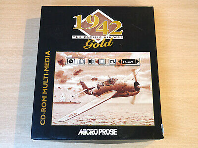 PC CD Rom - 1942 Gold : The Pacific Air War By Microprose • 24.99£