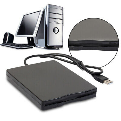 1.44Mb 3.5  USB External Portable Floppy Disk Drive Diskette FDD For Laptop PC • 12.99£