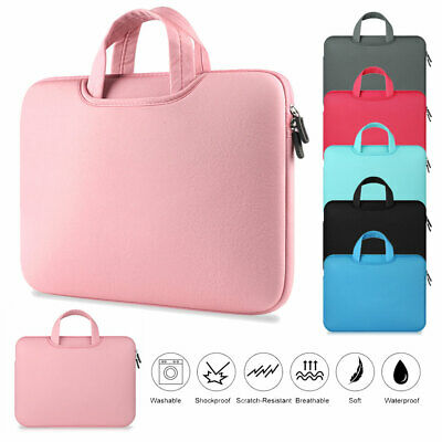 11 - 15.6  Ultra-thin Laptop Bag Universal Sleeve Notebook Case Computer Handbag • 7.32£