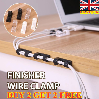 Finisher Wire Clamp 20PCS丨Cable Clip With Strong Adhesive Tapes BUY 2 GET 2 FREE • 3.89£