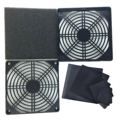 PC Case Cooling Fans Magnetic Dust Filter Mesh Net Cover For PC Case Cooling  WS • 2.84£