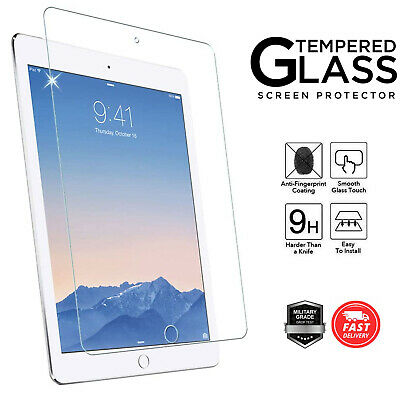 Genuine TEMPERED GLASS Screen Protector For Apple IPad 9.7  6th 5th Generation • 3.90£
