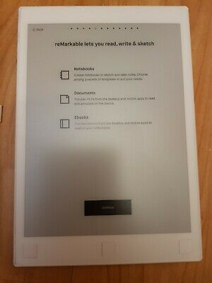 ReMarkable Paper Tablet V1 Used Good Condition. • 155£