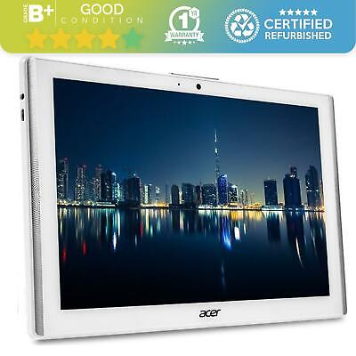 Acer Iconia One 10 Tablet White B3-A40 10.1  Display 16GB Storage Grade B+ • 59.99£