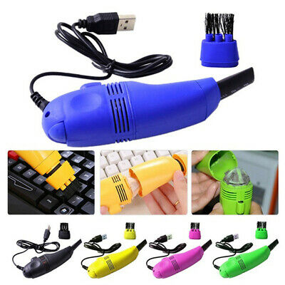 2020 New Mini Computer Vacuum USB Keyboard Cleaner PC Brush Dust Cleaning Kit WS • 4.65£